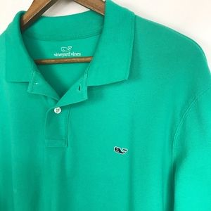 Vinyard Vines Long Sleeve Polo Size Large